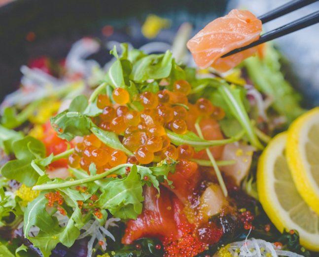 Fresh Sashimi Salad